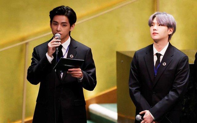 BTS canta a través de las Naciones Unidas en la sede de Nueva York