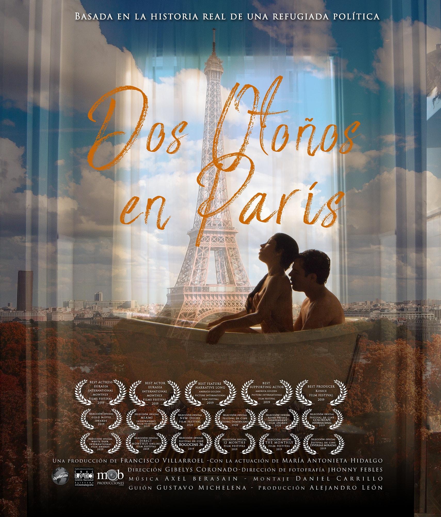 El largometraje Dos otoños en París llega a las salas del país