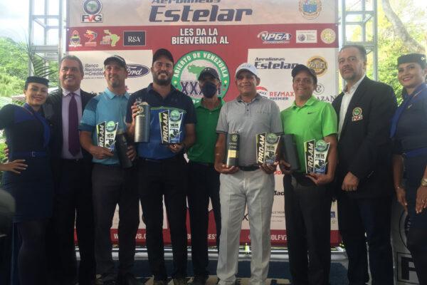 XXXVI Abierto de Venezuela de golf. Equipo de Richard Rojas  campeón del ProAm