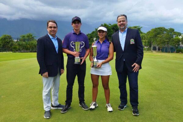 Rocco Saraceni e Ivanna Flores  campeones nacionales juveniles 2021