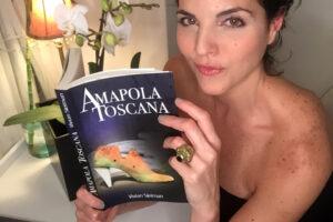 "Vivian Sleiman lanza ""Amapola Toscana"" su primera novela tras 3 Best Sellers"