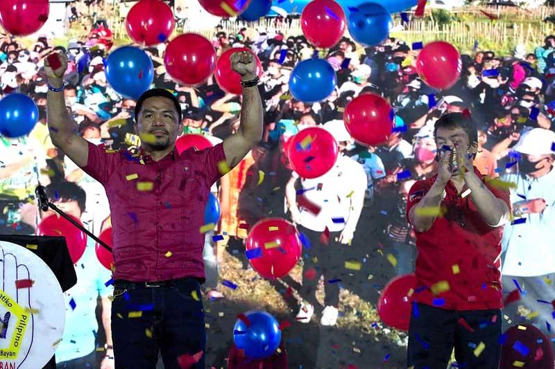 Manny Pacquiao, de Filipinas,se postulará para presidente en 2022