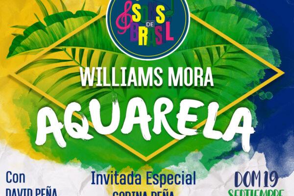 Williams Mora mixtura colores de música en Sons de Brasil