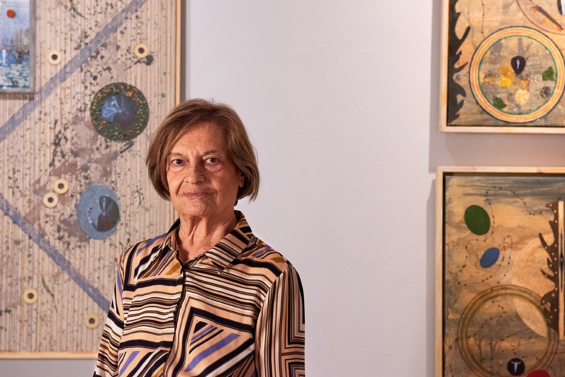 El arte poético de Teresa Gancedo toma la galería Odalys Madrid