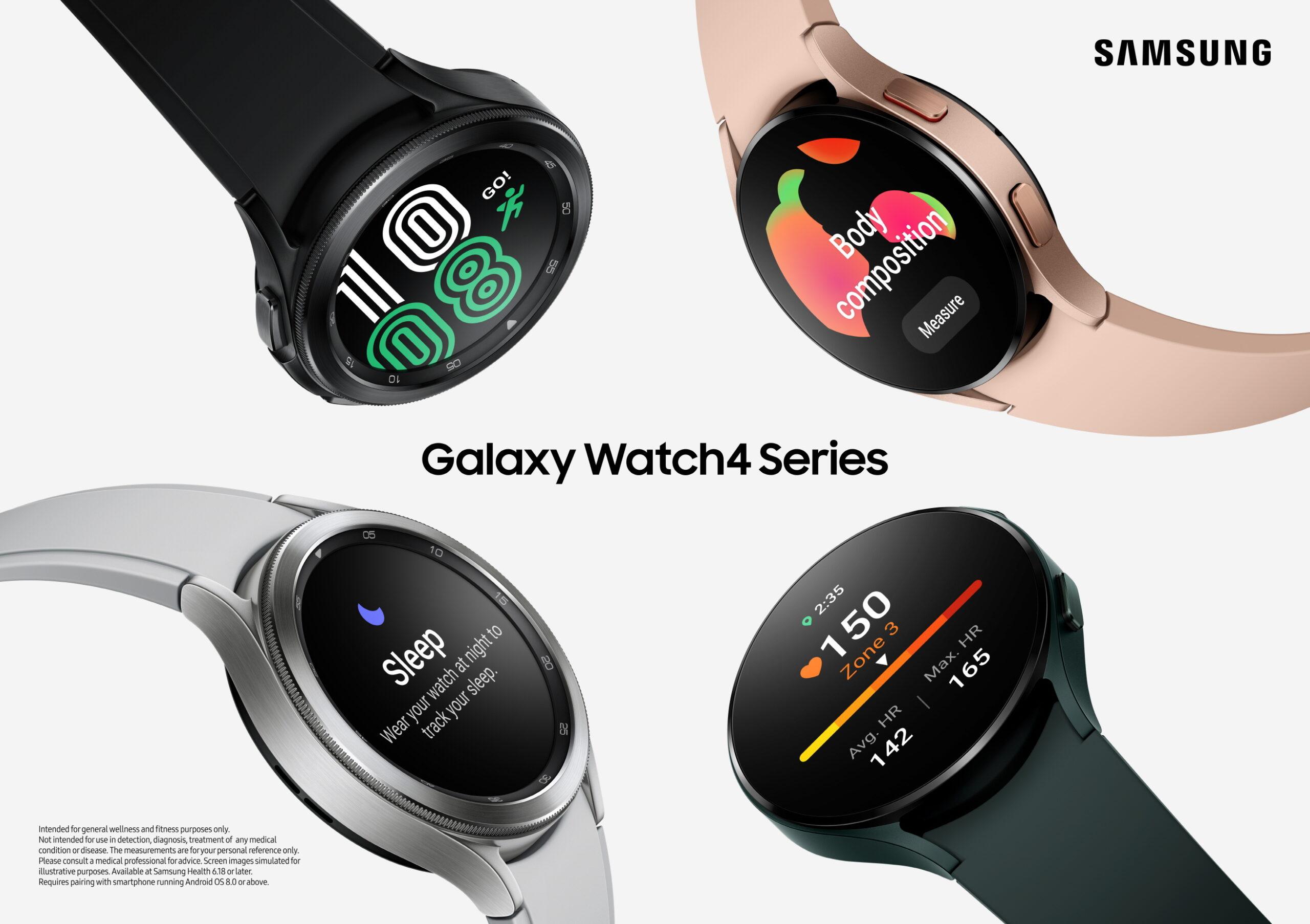 La serie Serie Galaxy Watch4 da vida a la autoexpresión