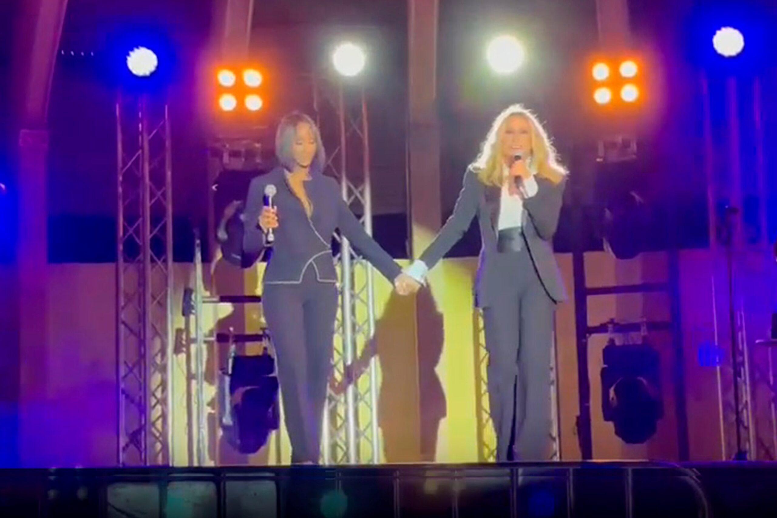 Alicia Banquez y Marta Sánchez unidas por la música