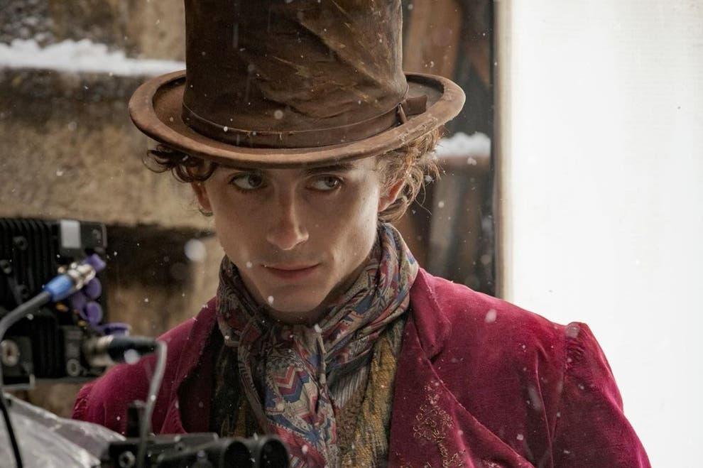 Timothee Chalamet brinda a los fans una visión poco común de la próxima película Wonka