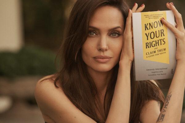 Angelina Jolie ambiciosa para su nuevo libro, ayudará a «lograr una sociedad más igualitaria»