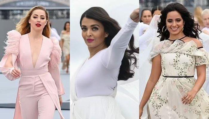 Camila Cabello, Amber Heard, Aishwarya Rai se unieron a L'Oreal para un espectáculo repleto de estrellas