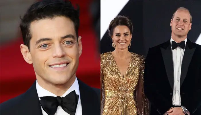 Rami Malek opens up about his meeting with Prince William and Kate Middleton