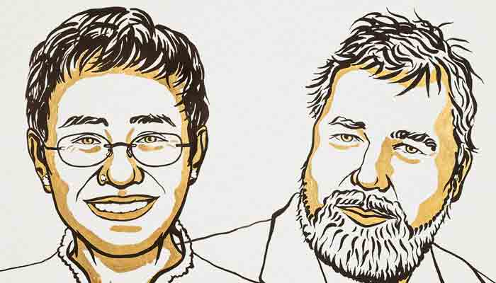Los periodistas Maria Ressa y Dmitry Muratov ganan el Premio Nobel de la Paz