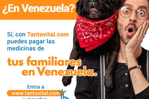 Tantovital:  Encontrar y pagar servicios de salud y medicinas en  Venezuela desde cualquier parte del mundo