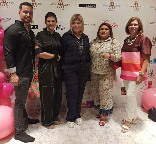 Ana Ascanio Couture se tiñe de rosa con su colección Diversita a beneficio de SenosAyuda