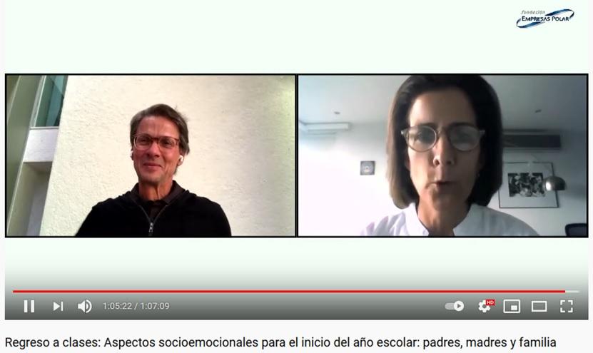 Fundación Empresas Polar promovió un regreso a clases seguro y organizado a través de un ciclo de conferencias virtuales