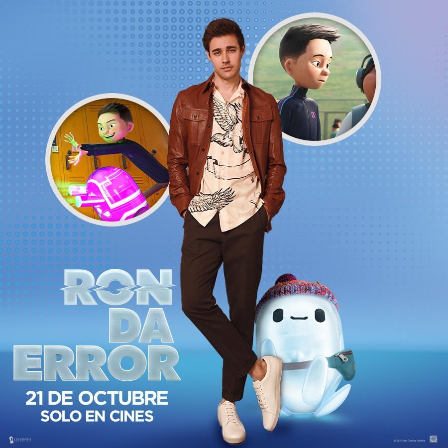 Jorge Blanco da voz a Noah en la versión en español para Latinoamérica de »RON DA ERROR»