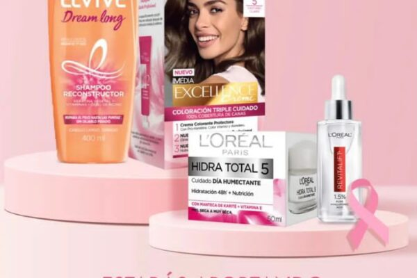 L'Oréal París junto a Farmatodo dan su granito de arena a SenosAyuda en el mes rosa