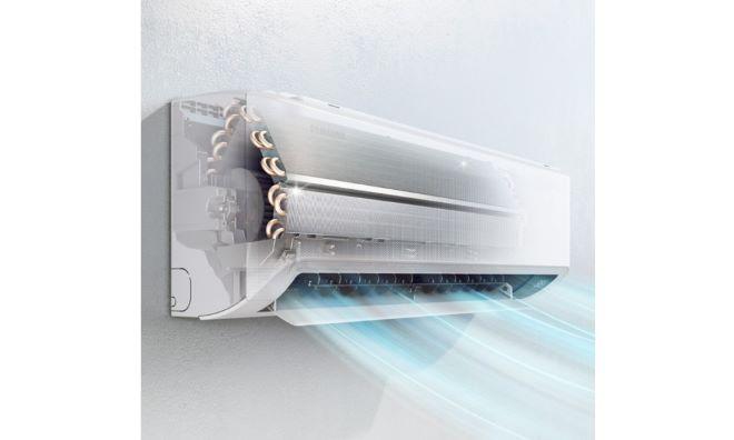Tecnología Wind Free de Samsung  ofrece aire frío, limpio y confortable en casa